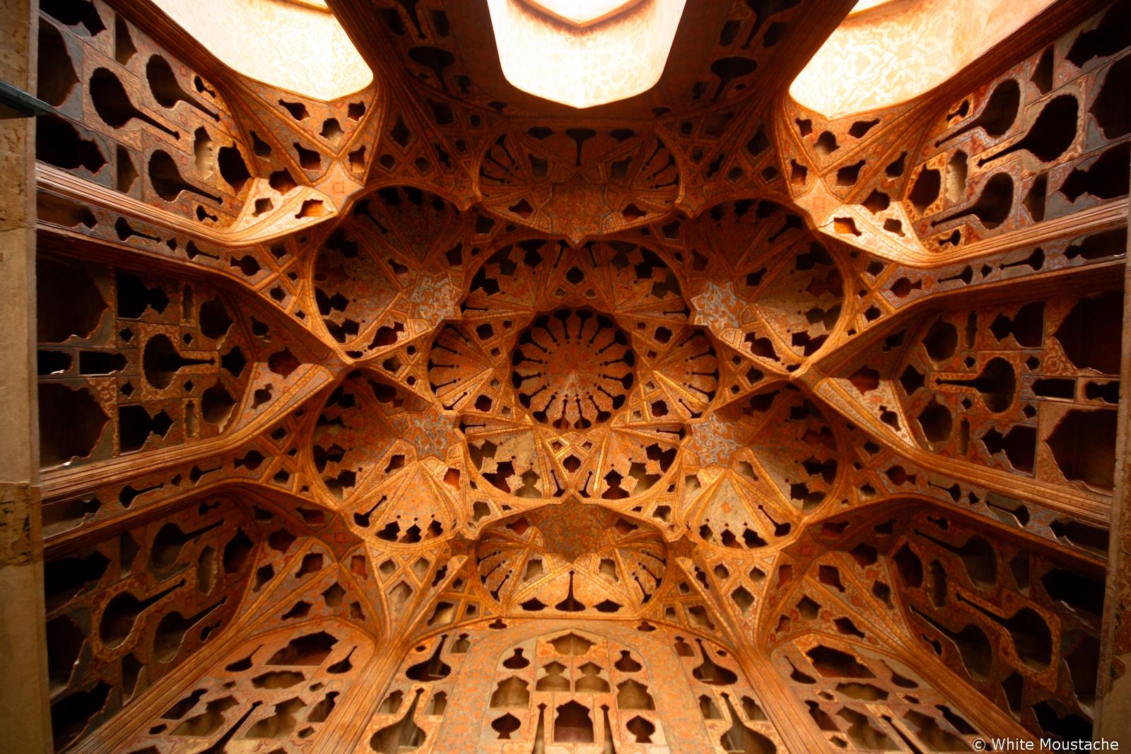 Pokój Muzyczny w Pałacu w Esfahan