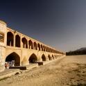 Jeden z wielu mostów w Esfahanie... problem tylko taki, że w Sierpniu nie ma rzeki :)