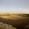 Wnętrze murów obronnych w Kashan