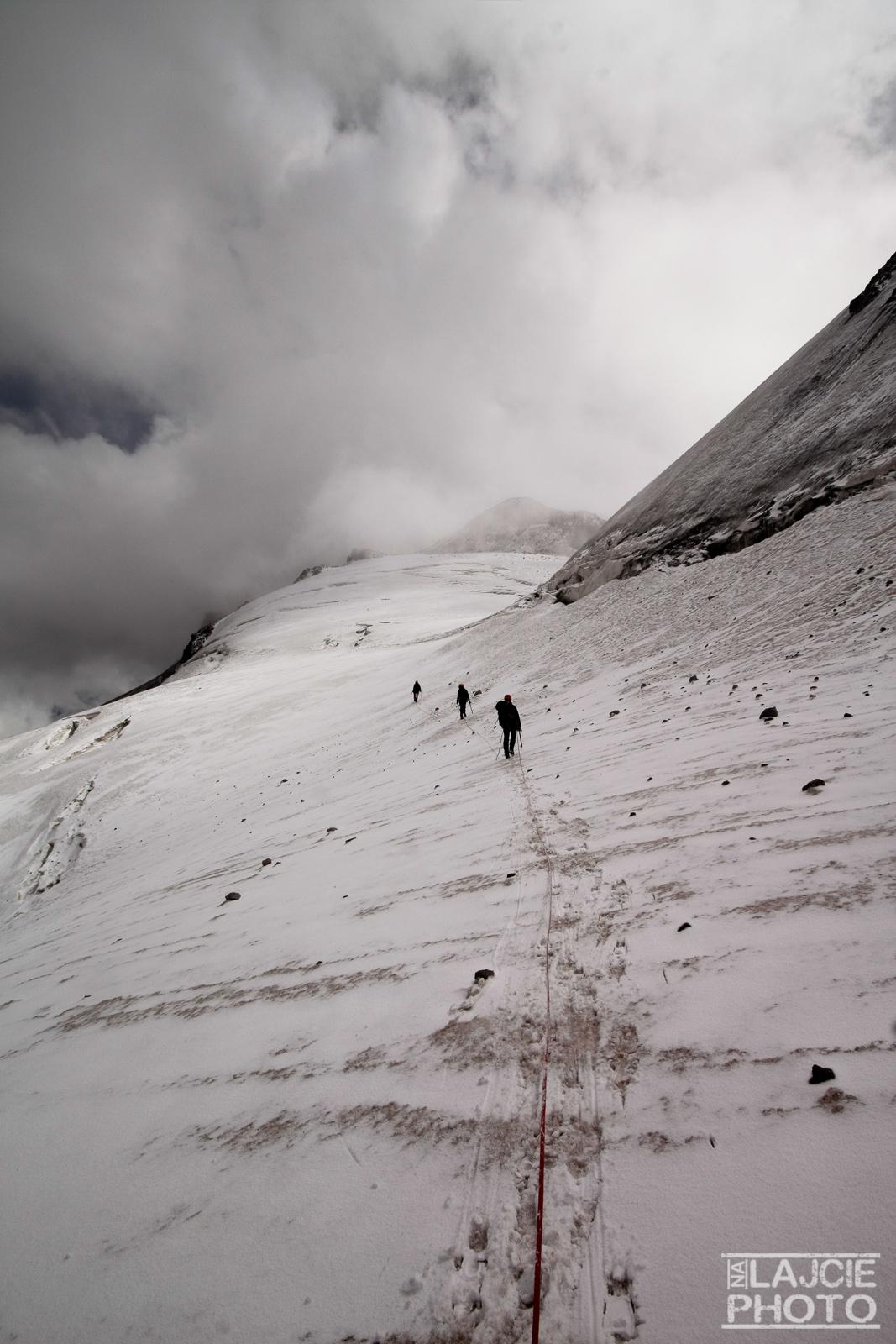 W stronę przełęczy Ortsweri