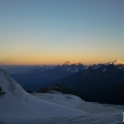 Ushba i Elbrus