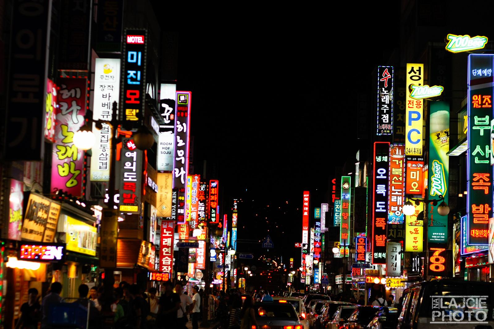 Korea Nocą :D
