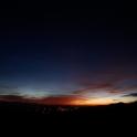 Zachód słońca nad doliną Dunajca