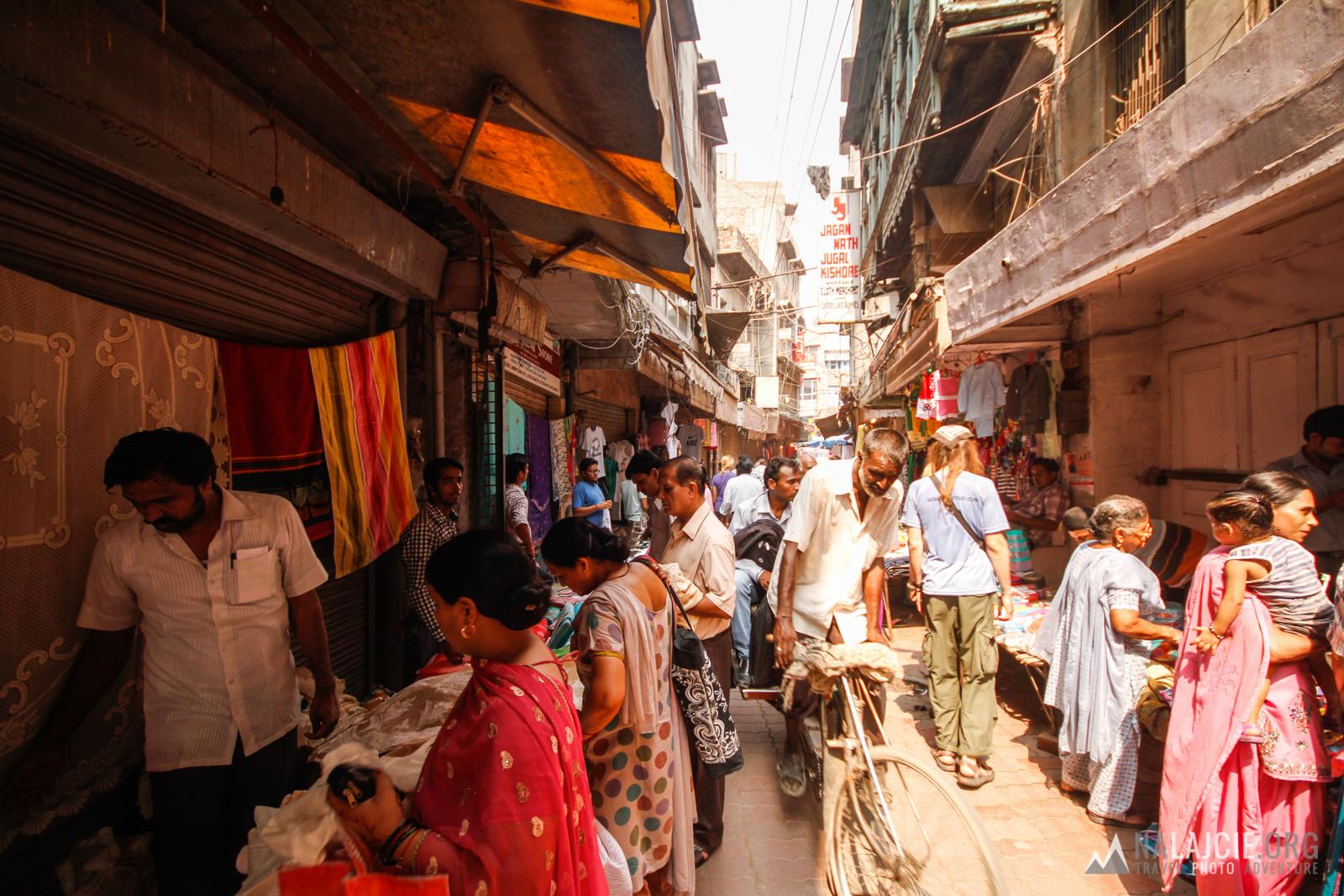 Bazar w Amritsarze