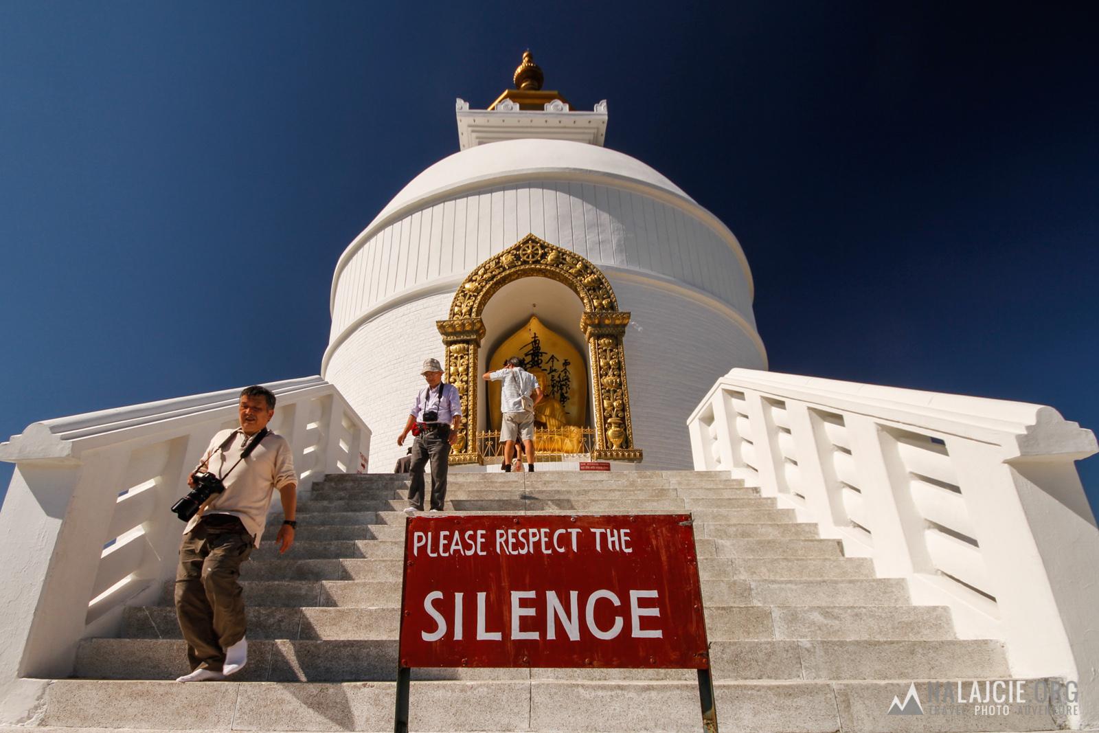 World Peace Pagoda.