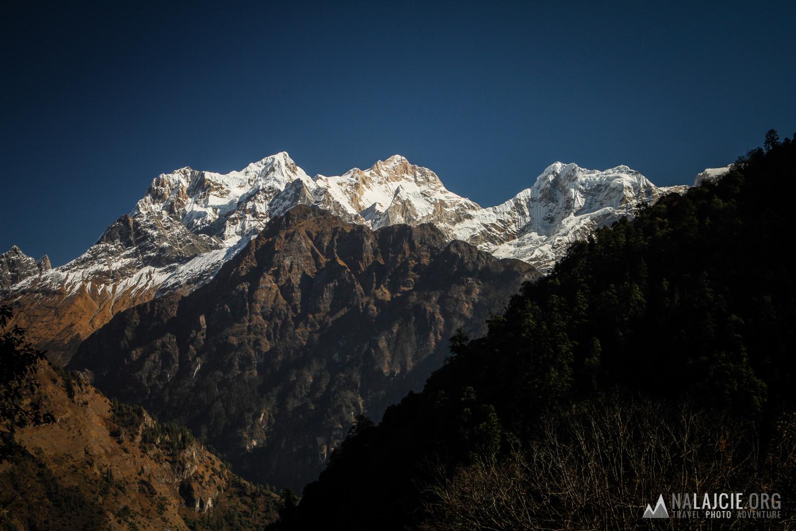 Na szlaku Annapurny.