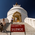 World Peace Pagoda.
