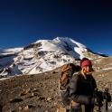 Thorung Peak w tle.