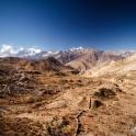 Pustynna dolina.