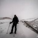 Wariantowlaiśmy szlak z lewej strony lodowca.