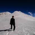 W tle szczyt Dhampus Peak - zaatakujemy go następnym razem.