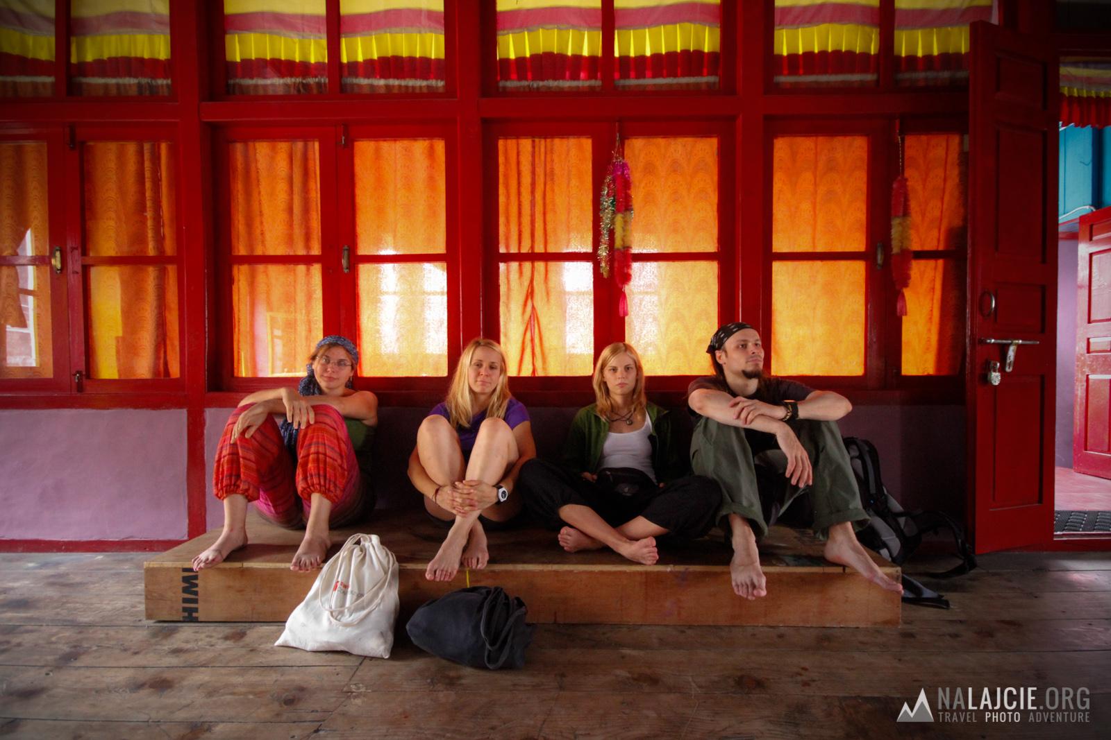 W Świątyni tybetańskiej