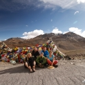 Kolejna z wysokich przełęczy na drodze Manali - Leh