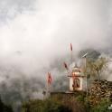 Mała świątynia w Bhaksu.