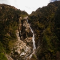 Widokowe wodospady.