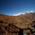 Kolejny dzień- próbujemy się przebić w górę doliny - własnym wariantem.