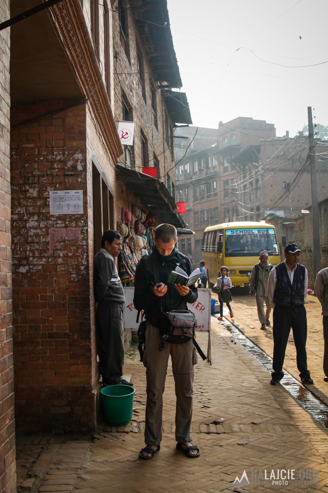 Poranek w Bhaktapur.