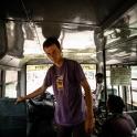 I udało się - przejazd lokalnym autobusem do granicy nepalskiej.