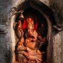 Posąg Ganeshy.