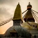 Zachód słońca - czas na nas. Jedziemy do Pokhary!