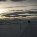 Powolny zachód słońca