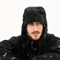 Tomek, w tle Laponia!
