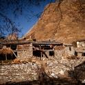 Mała wioska z kamienia.