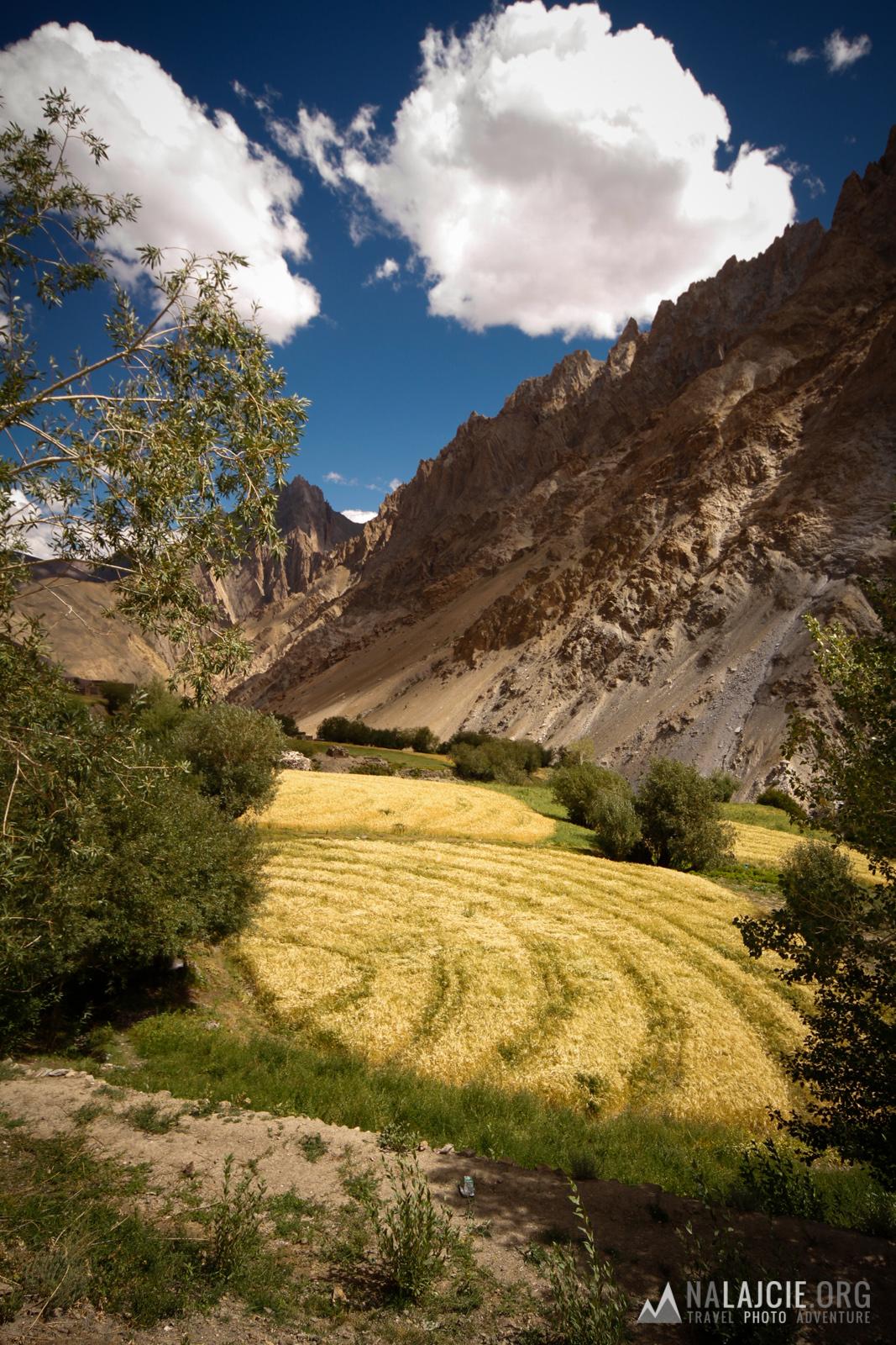 Odcięta przez góry wioska Sumdah Chemno.