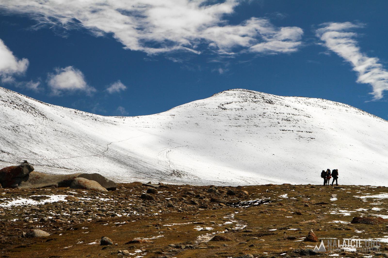 Na przełęcz Kongmaru La.