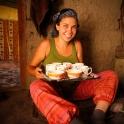 ... w oczekiwaniu na pyszny ryż z warzywami!