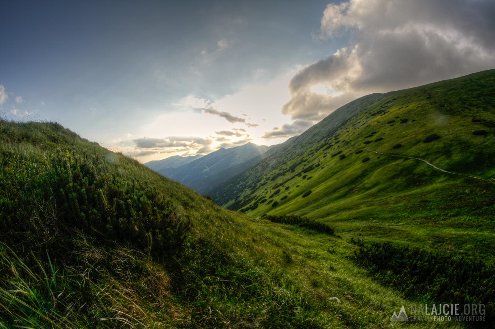 W drodze na najwyższy szczyt Niżnych Tatr!