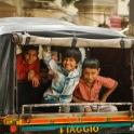 Pierwszy dzień w stolicy Radżastanu - od rana duży ruch.