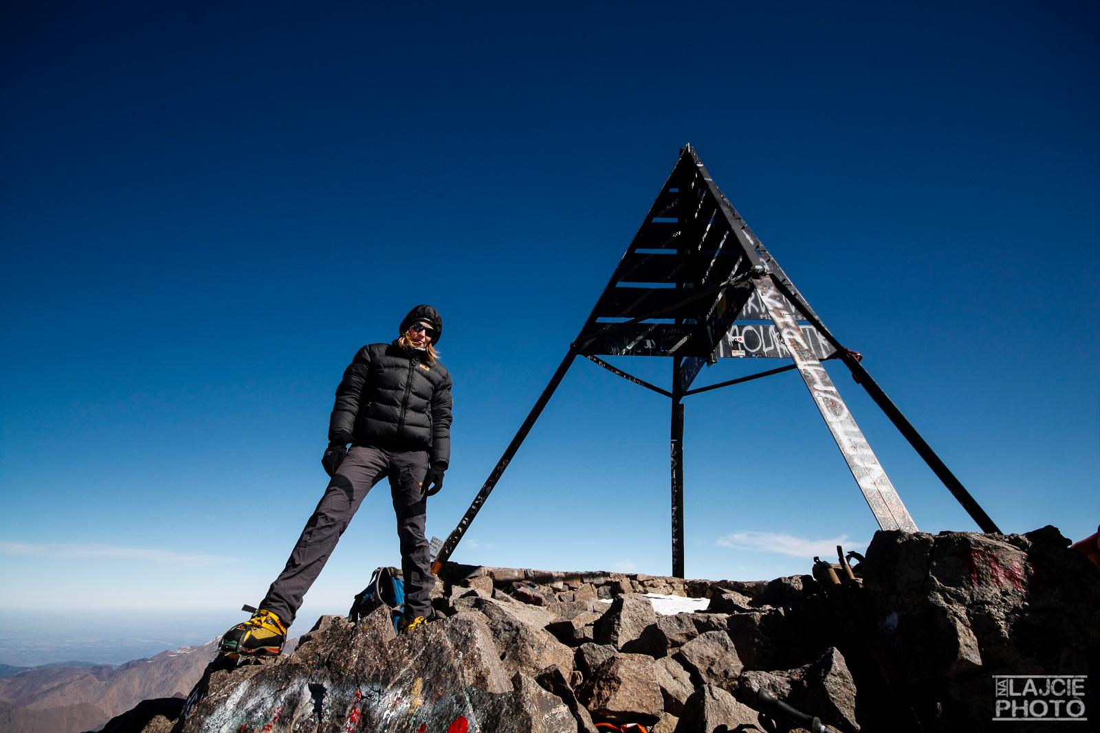 Jesteśmy na szczycie Jbel Toubkal! :)