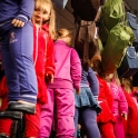 Ciekawy sposób eksponowania dziecięcych ubranek :)