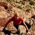 Trekking na Jebel el Kest, to chyba nie jest droga normalna... :D