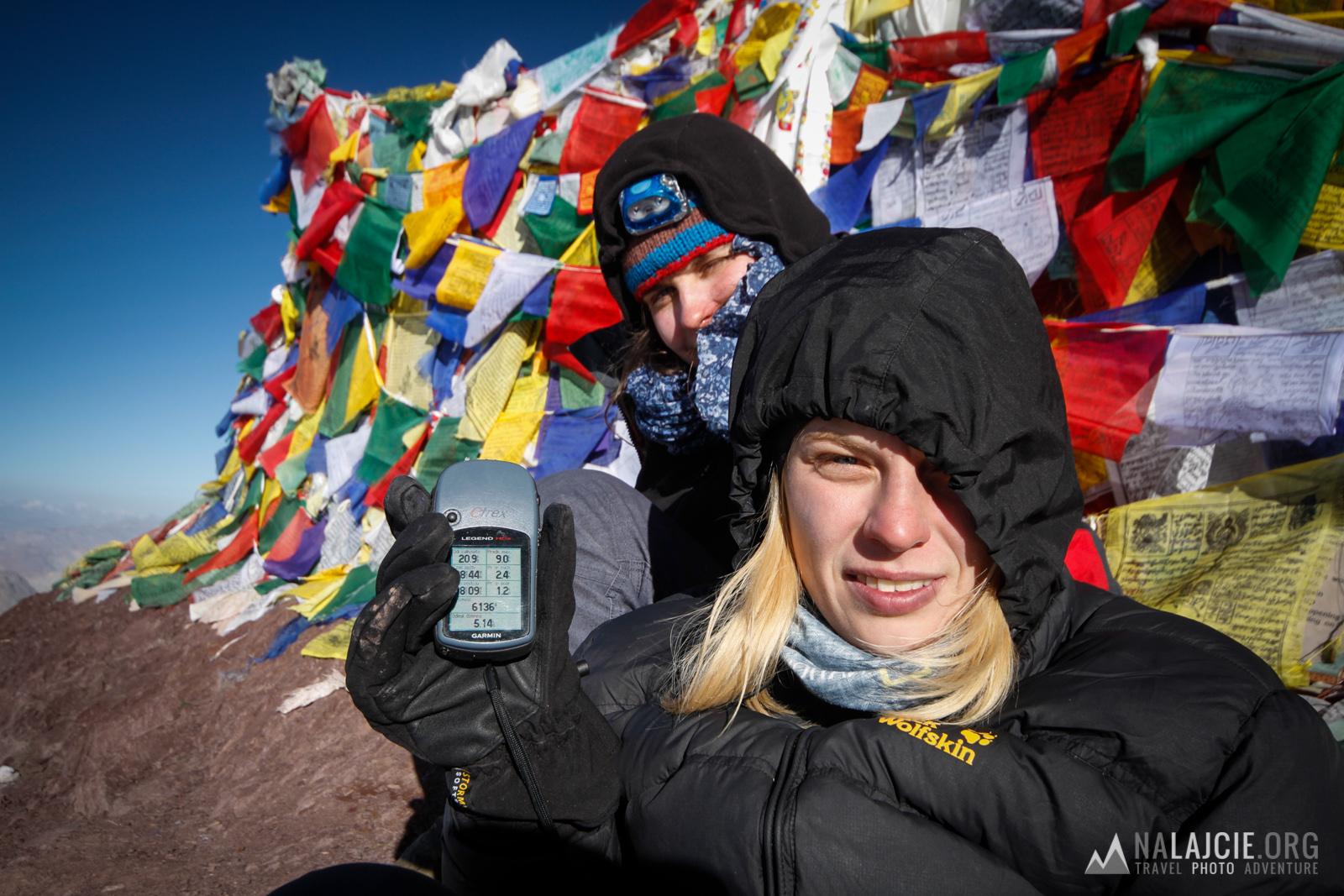 GPS wymierzył szczyt na 6136m