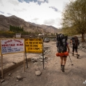 Początek szlaku trekkingoweg do Stok Kangri BC