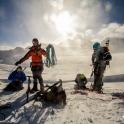 Rozszpejanie się po przejściu lodowca
