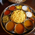 Na pyszne south india thali!