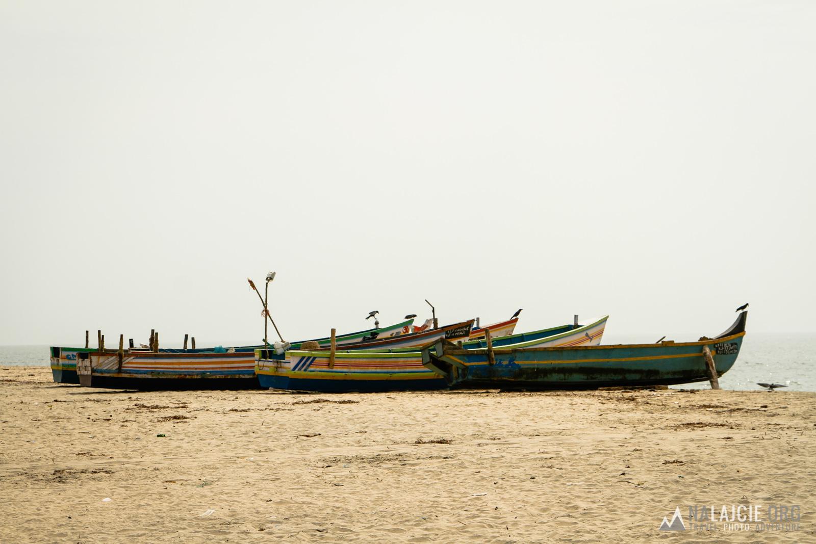 Mijamy ostatnie łódki rybackie i wracamy do miasta.
