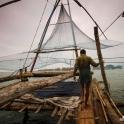 Chinese fishing nets.