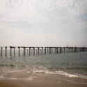 I miejscową  plażę.