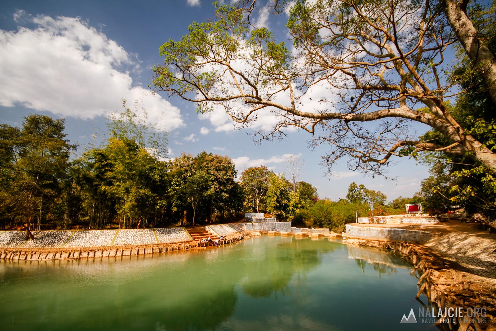 Błękitna laguna.