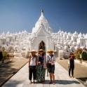 Biała świątynia.