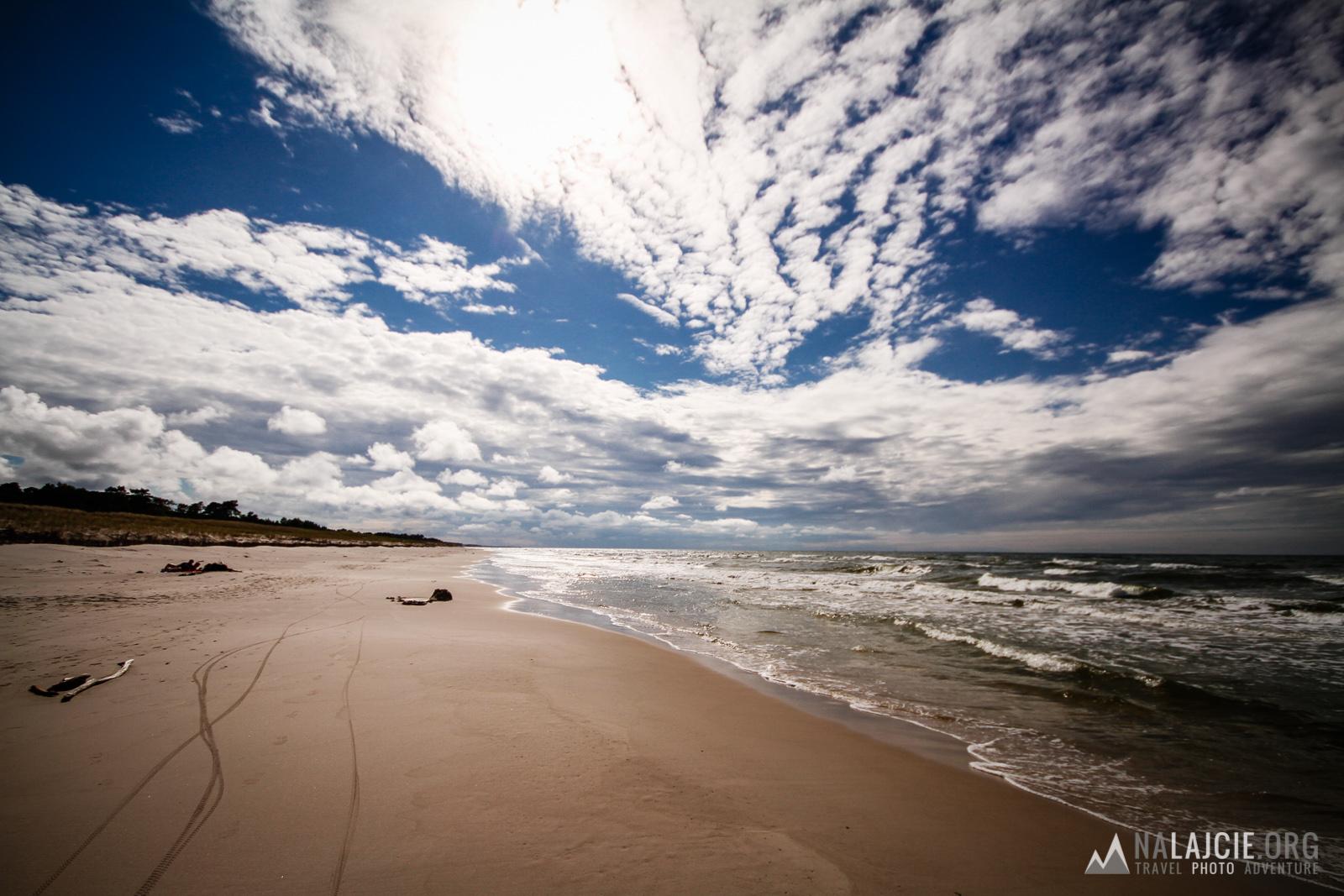 Popołudnie na plaży.