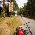 Na trasie Hel - Jurata.