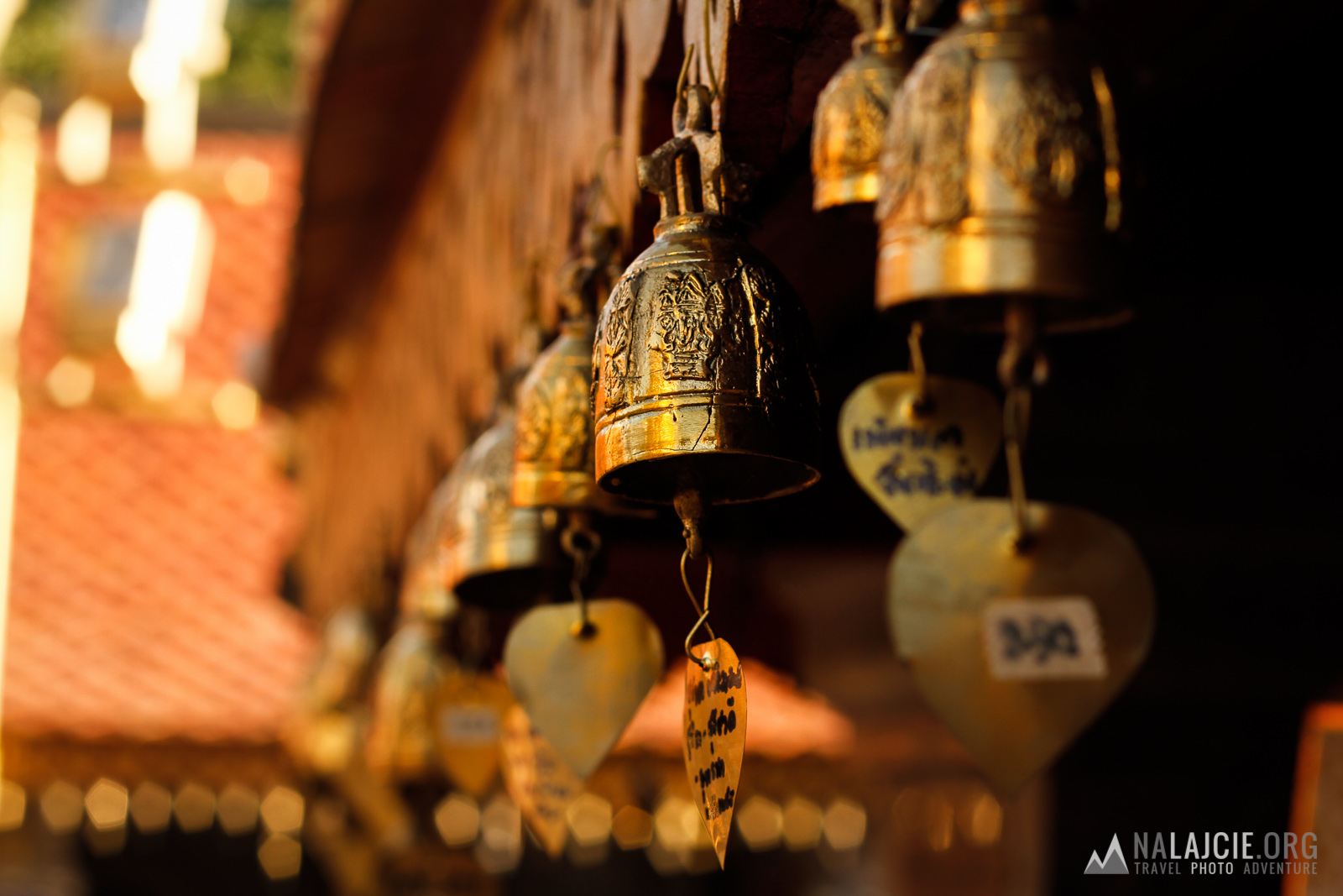 Dzwonki z modlitwami.