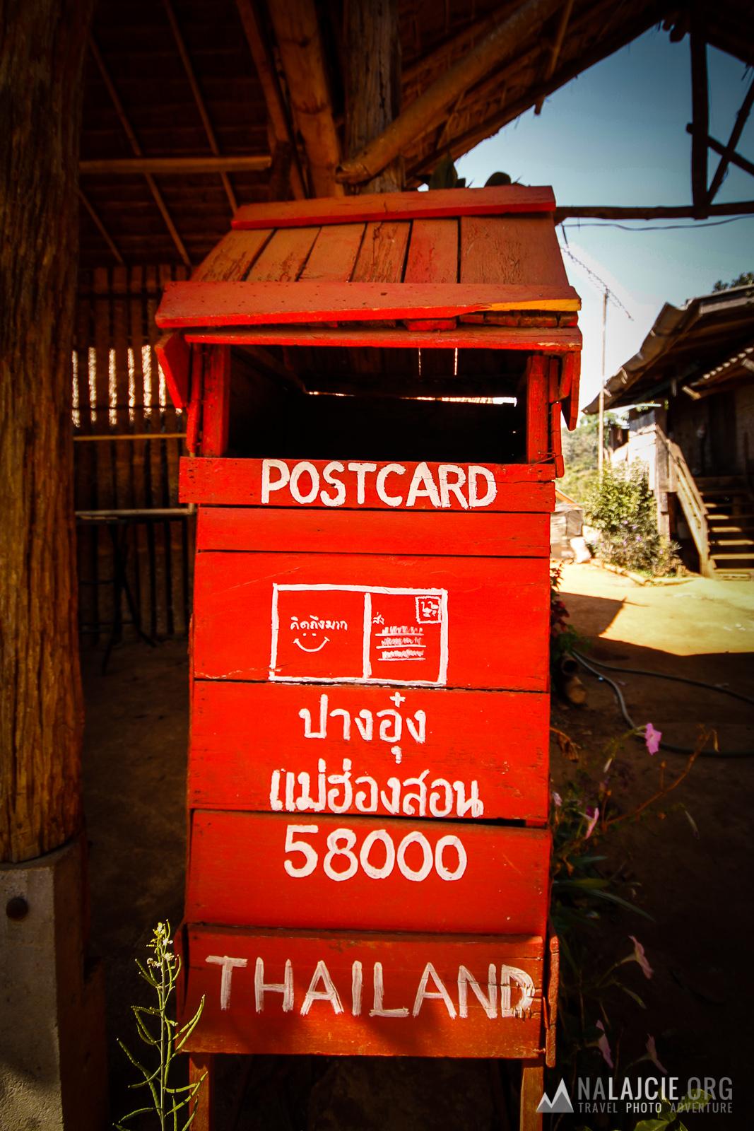 Wycieczka przez tajlandzkie wioski.