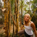 W babmusowym lesie.