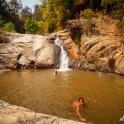 Słynne wodospady nieopodal Pai.
